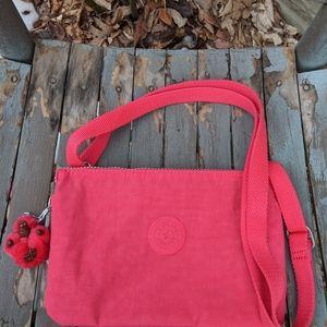 NWOT Women's Kipling Pink Crossbody Bag
